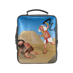 Jewish Slaves in Egypt Square Backpack (Model 1618)