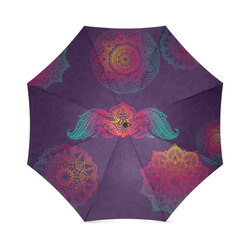 Colorful Mandala Foldable Umbrella (Model U01)
