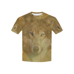 The Wolf in the Moon Kids' All Over Print T-shirt (USA Size) (Model T40)