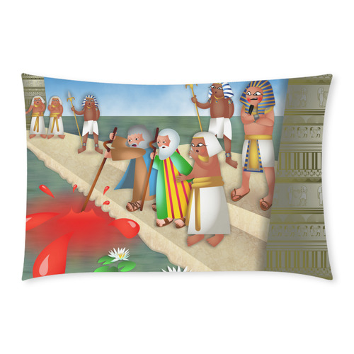Passover & The Plague of Blood 3-Piece Bedding Set