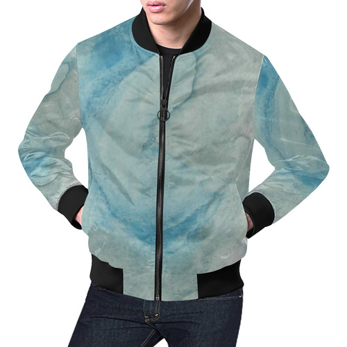 Dawn of Life All Over Print Bomber Jacket for Men (Model H19)