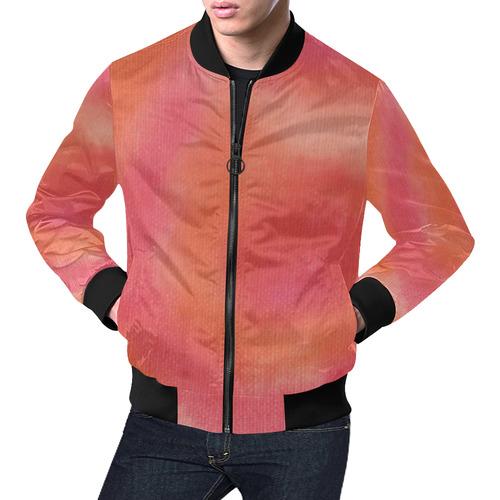 Poppy Song All Over Print Bomber Jacket for Men (Model H19)