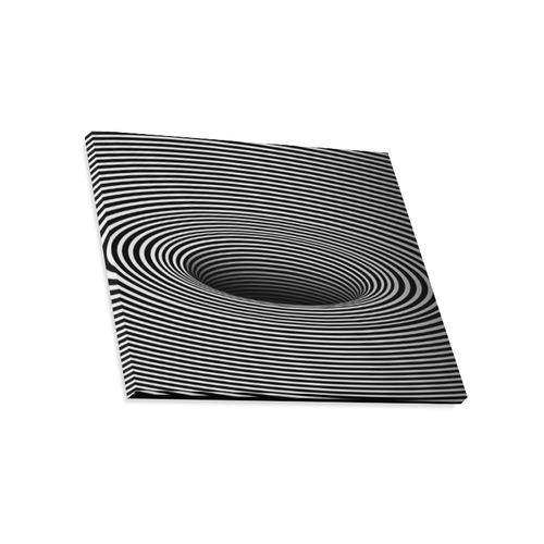 "Canvas Print 20""x16"" Graphic Illustration Black Hole Canvas Print 20""x16"""