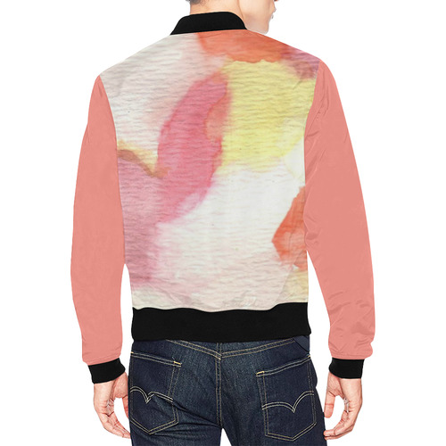 Colour Expression All Over Print Bomber Jacket for Men (Model H19)