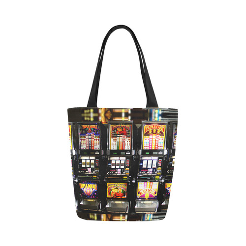 Lucky Slot Machines - Dream Machines Canvas Tote Bag (Model 1657)