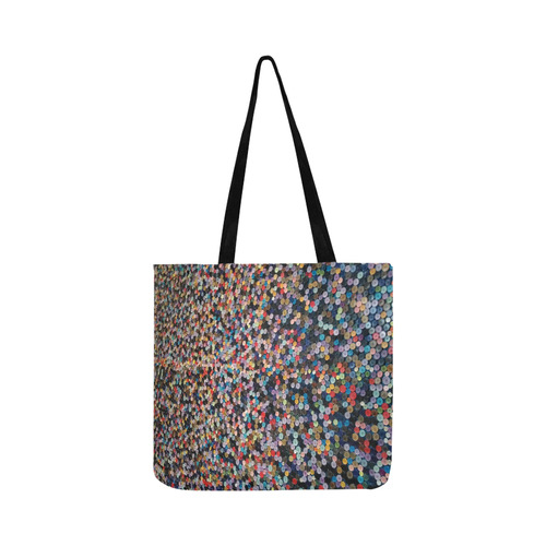 buttons Reusable Shopping Bag Model 1660 (Two sides)