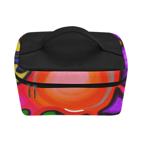 Vibrant Abstract Paint Splats Lunch Bag/Large (Model 1658)