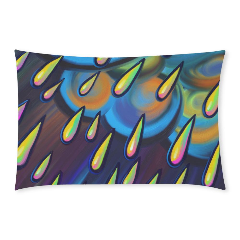 Heavy Rain Cloud Painting 3-Piece Bedding Set