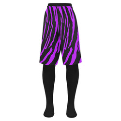 Purple Tiger Stripes Men's Swim Trunk (Model L21)