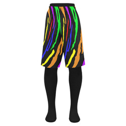 Rainbow Tiger Stripes Men's Swim Trunk (Model L21)