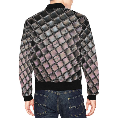 NB Popart by Nico Bielow All Over Print Bomber Jacket for Men (Model H19)