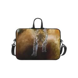 """A fantastic painted russian amur leopard Laptop Handbags 10"""""""