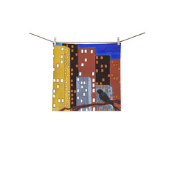 """The Watcher Square Towel 13""""x13"""""""