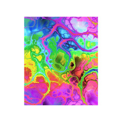 """Rainbow Marble Fractal Poster 20""""x24"""""""