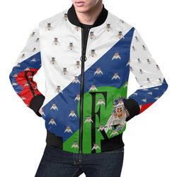 Fly wear All Over Print Bomber Jacket for Men (Model H19)