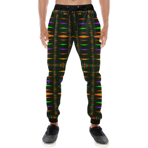 candle light hot as fire Men's All Over Print Sweatpants (Model L11)