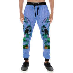 grunge skull H by JamColors Men's All Over Print Sweatpants (Model L11)