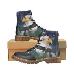 Shaman Eagle Spirit Apache Round Toe Men's Winter Boots (Model 1402)