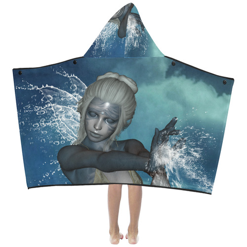 The fairy of water Kids' Hooded Bath Towels