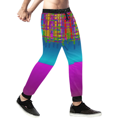 Sky earth and star fall Men's All Over Print Sweatpants (Model L11)