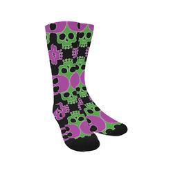 Skull Jigsaw GP Trouser Socks