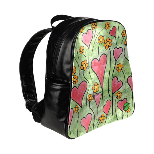 Where Love Grows. Inspired by the Magic Island of Gotland. Multi-Pockets Backpack (Model 1636)