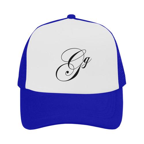 Alphabet G Blue Trucker Hat