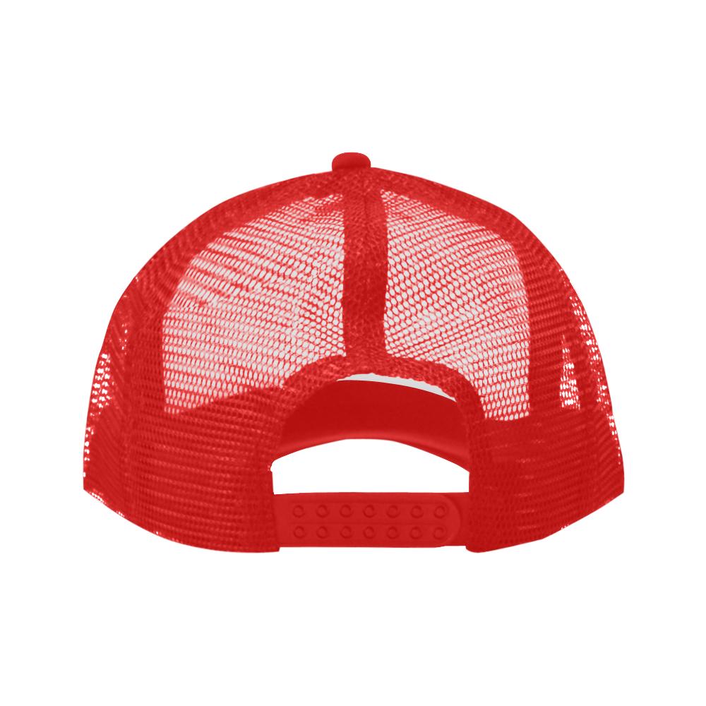 Alphabet G Red Trucker Hat