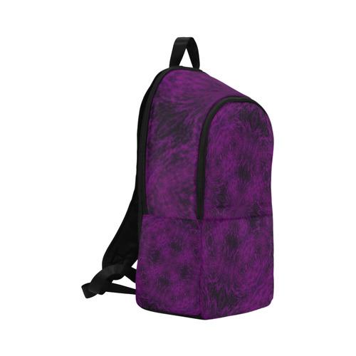 Violent Purple Gothic Rage Grunge Fabric Backpack for Adult (Model 1659)