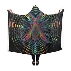 Webbed Hooded Blanket 60''x50''