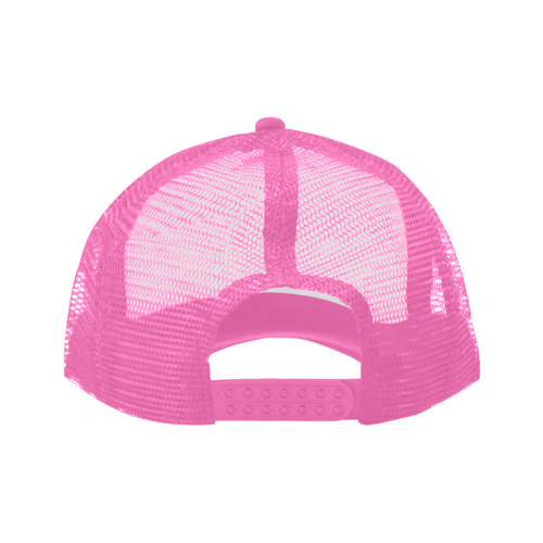 Alphabet Z Pink Trucker Hat