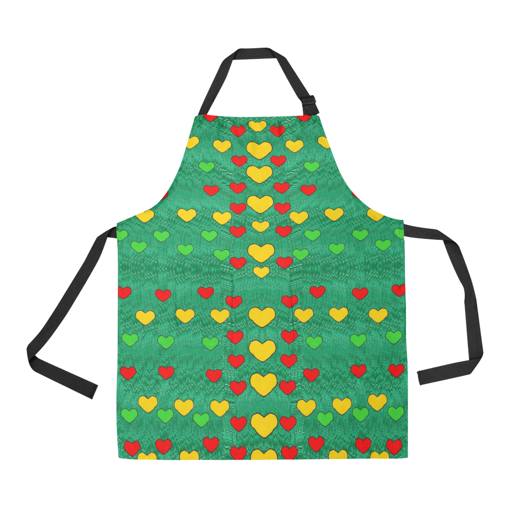 love is in all of us to give and show All Over Print Apron