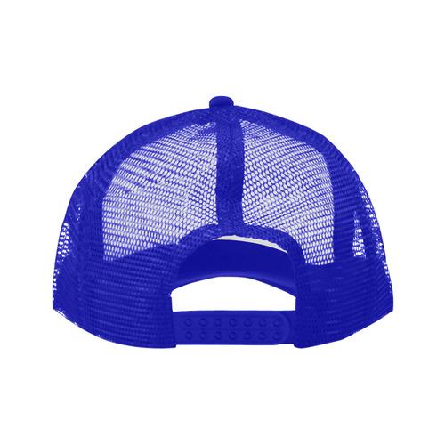 Alphabet H Blue Trucker Hat