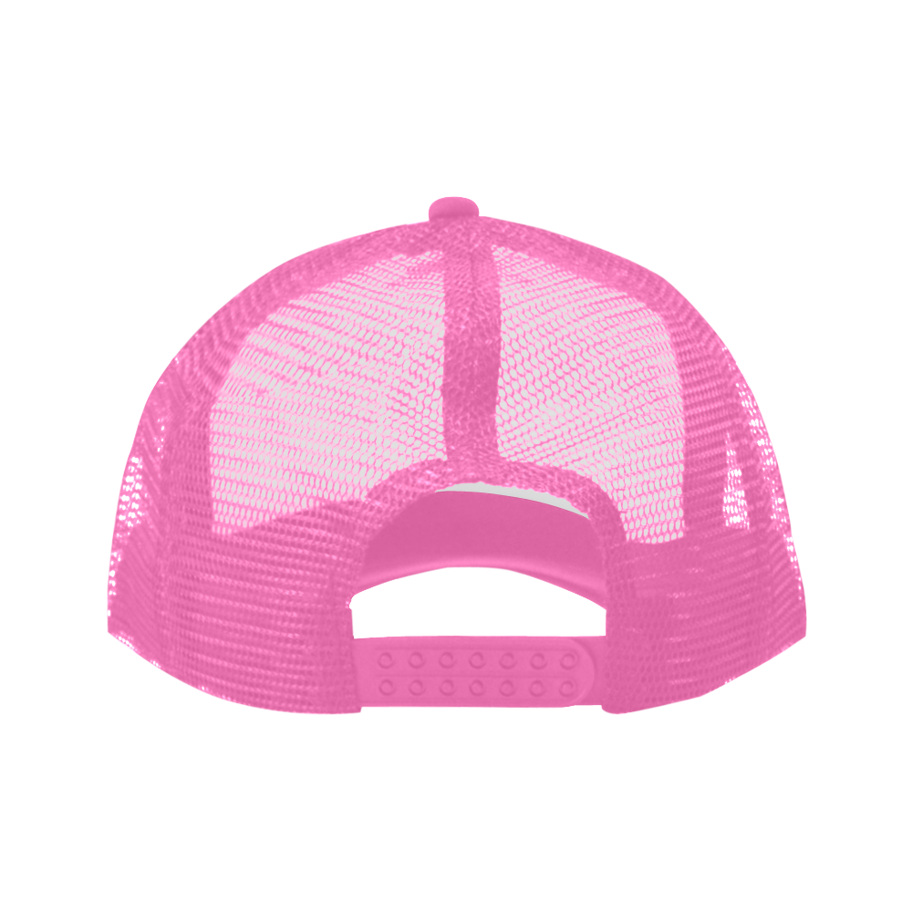 Alphabet V Pink Trucker Hat