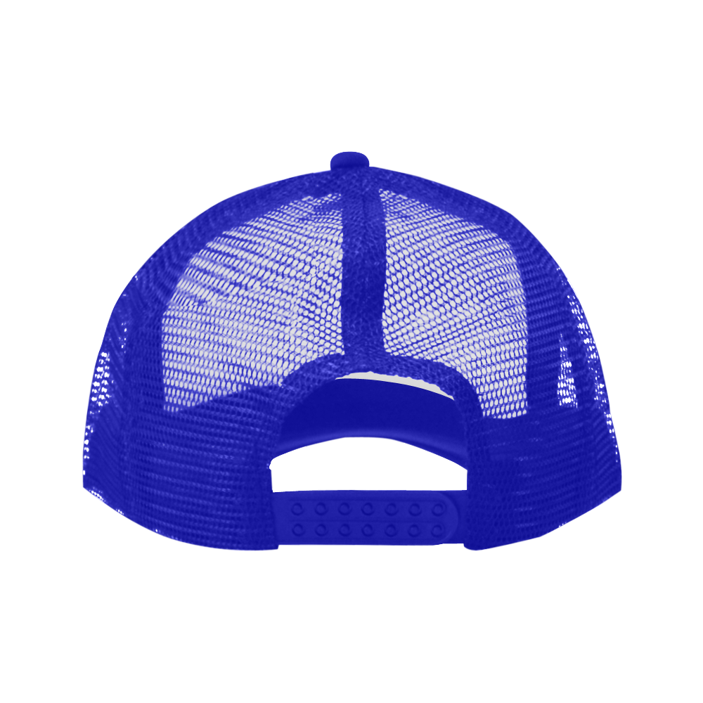 Alphabet Y Blue Trucker Hat