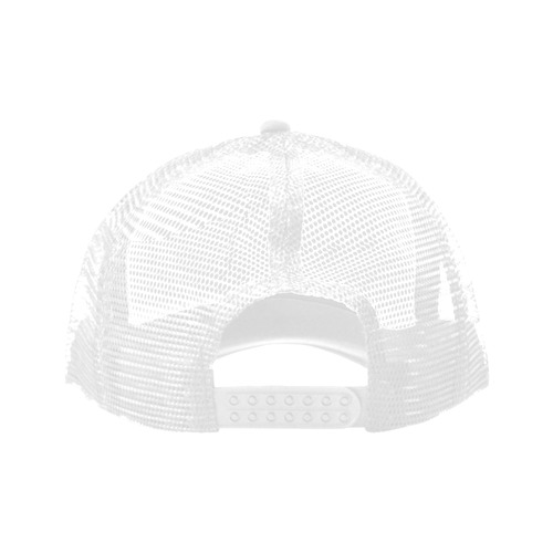 Alphabet X White Trucker Hat