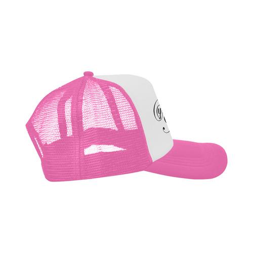 Alphabet Y Pink Trucker Hat