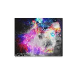 "Rehab the Storm רַ֫הַב Canvas Print 20""x16"""