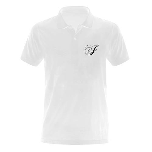 Alphabet I Men's Polo Shirt (Model T24)