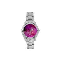 Wonderful floral design Men's Stainless Steel Analog Watch(Model 108)