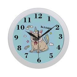 Be A Unipug Circular Plastic Wall clock