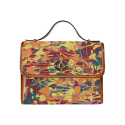 Forest Dance Waterproof Canvas Bag/All Over Print (Model 1641)