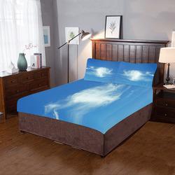 Summer Clouds 3-Piece Bedding Set