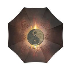 The sign ying and yang Foldable Umbrella (Model U01)