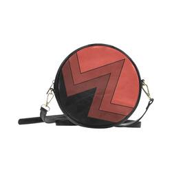 Zig Zag - Round Sling Bag Round Sling Bag (Model 1647)