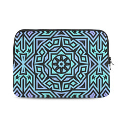 Aqua and Lilac Tribal Macbook Air 13""