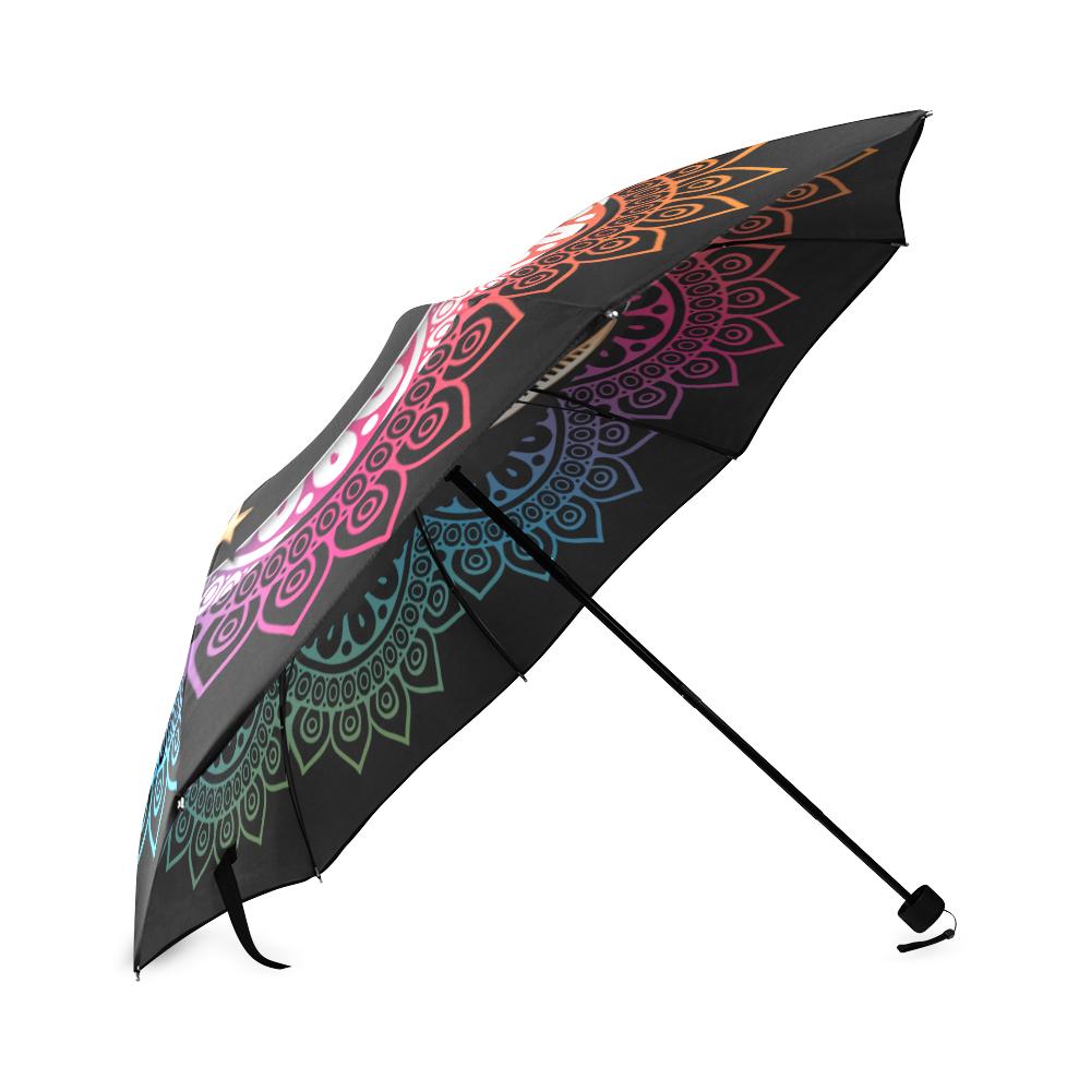 Arabian Night Mandala Foldable Umbrella (Model U01)