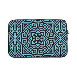 Aqua and Lilac Tribal Macbook Pro 17''