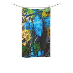"Japanese Painted Garden Custom Towel 16""x28"""