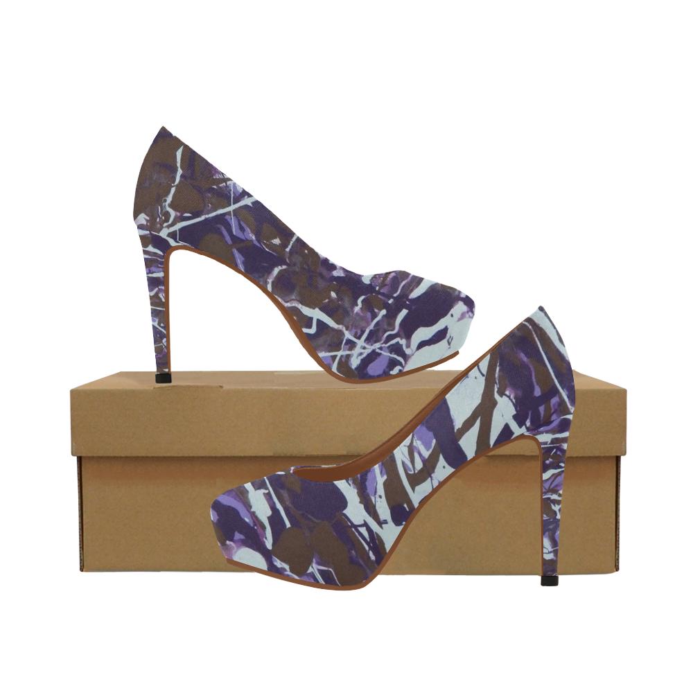 Dance of the Woodland Pixies Women's High Heels (Model 044)